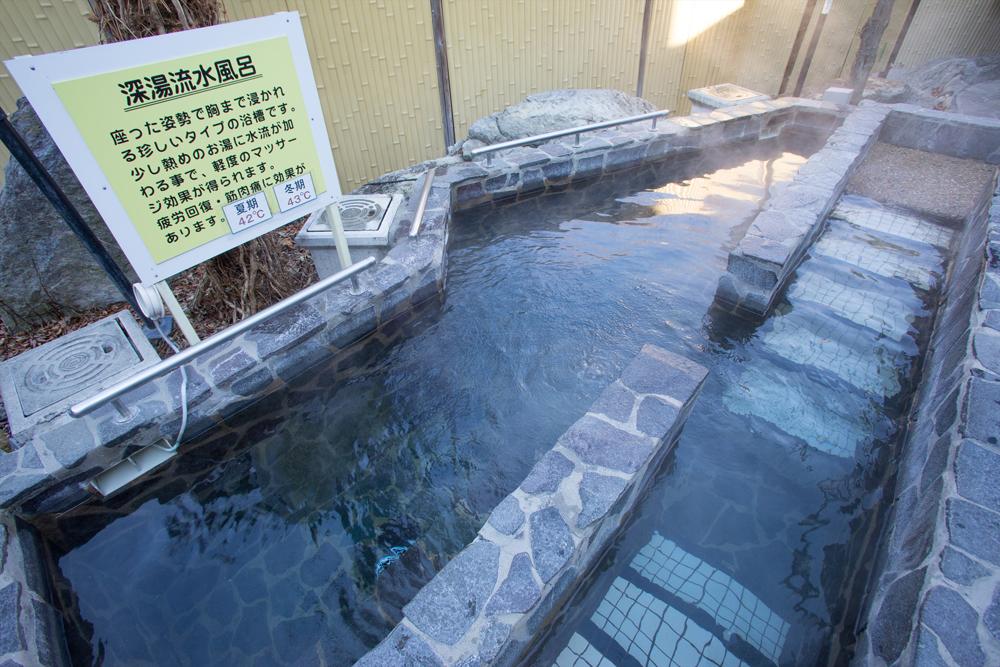 深湯流水風呂(岩)※男性露天風呂