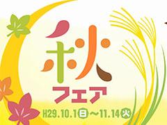 秋フェア【10月1日~11月14日】