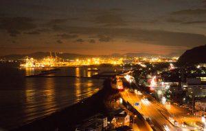 駿河湾を一望